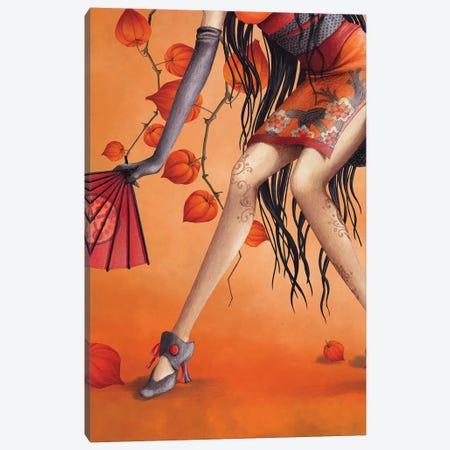 Miss Sensu Canvas Print #MTG55} by Misstigri Art Print
