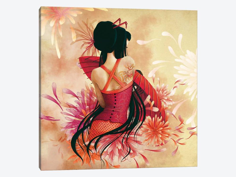 Miss Swan by Misstigri 1-piece Canvas Print