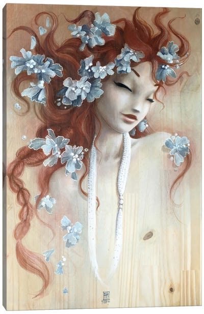 Myosotis Canvas Art Print