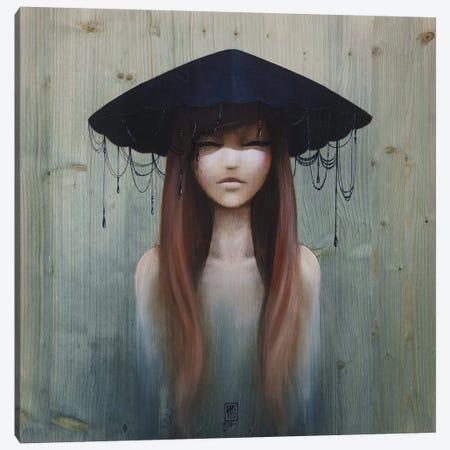 Night Drop Canvas Print #MTG62} by Misstigri Canvas Art Print