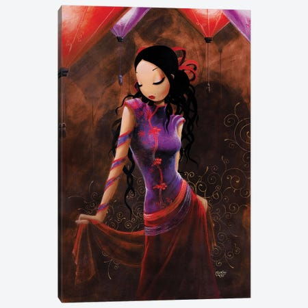 Parfum D'Orient Canvas Print #MTG66} by Misstigri Canvas Artwork