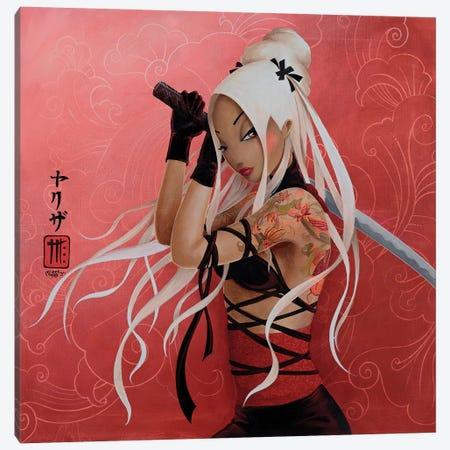 Yakuza Canvas Print #MTG85} by Misstigri Canvas Artwork