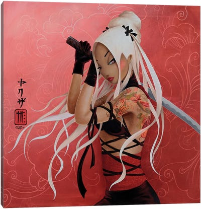 Yakuza Canvas Art Print