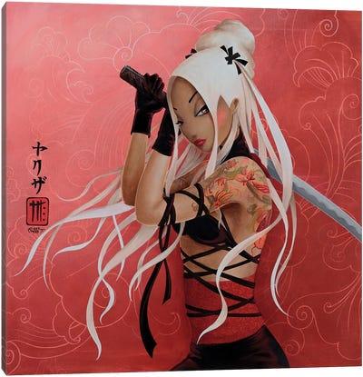 Yakuza Canvas Art Print