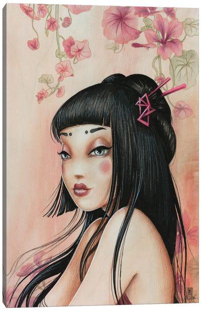 Sweet Capucine Canvas Art Print