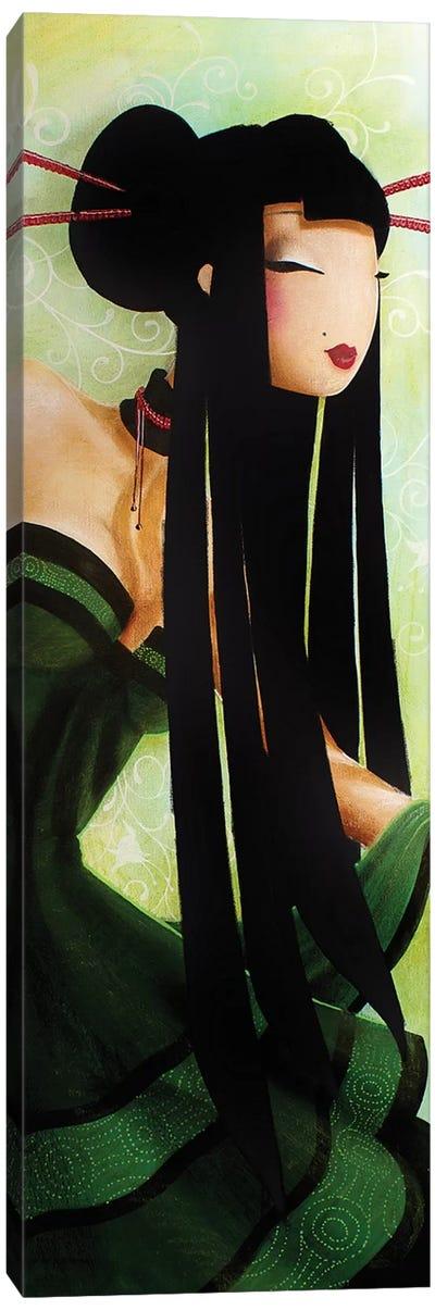 Baguettes Rouges Canvas Art Print