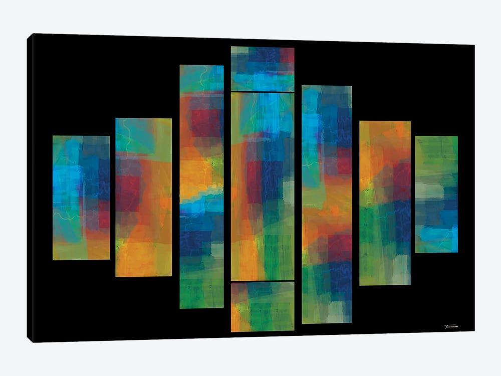 Sequential II by Michael Tienhaara 1-piece Canvas Print