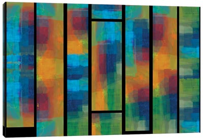 Sequential IV Canvas Art Print