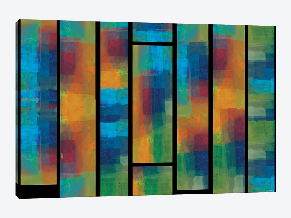 Sequential IV by Michael Tienhaara 1-piece Canvas Print