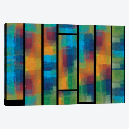 Sequential IV 3-Piece Canvas #MTH103} by Michael Tienhaara Canvas Art Print