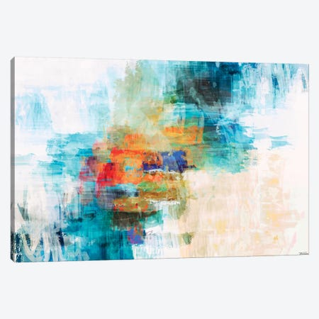 Splash I 3-Piece Canvas #MTH104} by Michael Tienhaara Canvas Wall Art