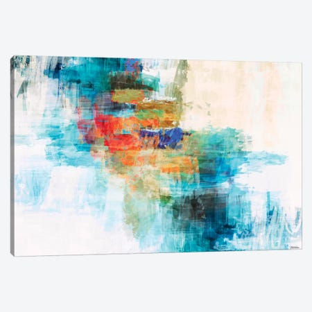 Splash II 3-Piece Canvas #MTH105} by Michael Tienhaara Canvas Wall Art