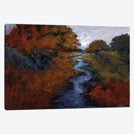 Spring Stream I Canvas Print #MTH106} by Michael Tienhaara Canvas Wall Art