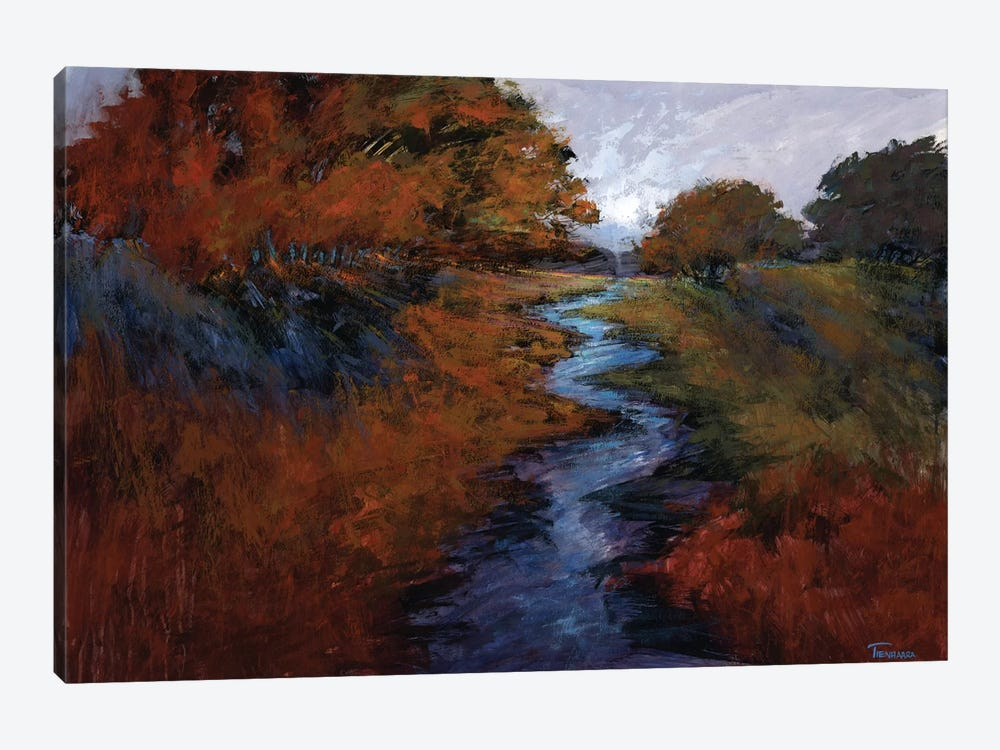 Spring Stream I by Michael Tienhaara 1-piece Canvas Art