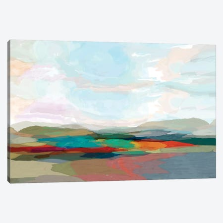 Strata III Canvas Print #MTH107} by Michael Tienhaara Canvas Wall Art
