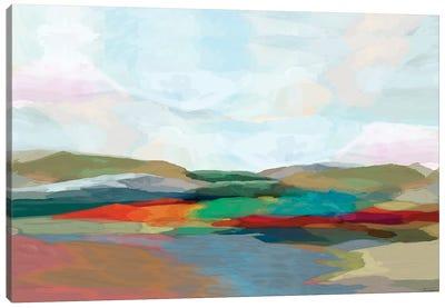 Strata IV Canvas Art Print