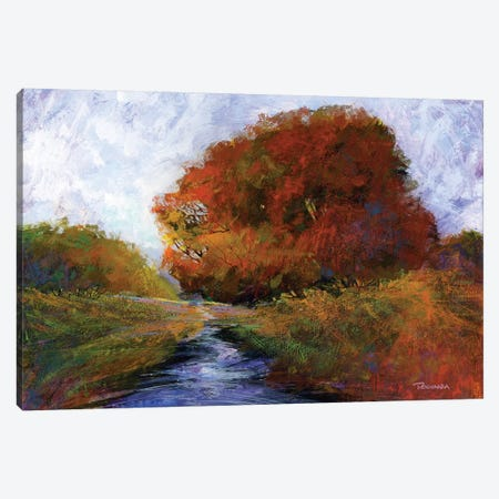 Autumn Intrigue II Canvas Print #MTH10} by Michael Tienhaara Canvas Art Print