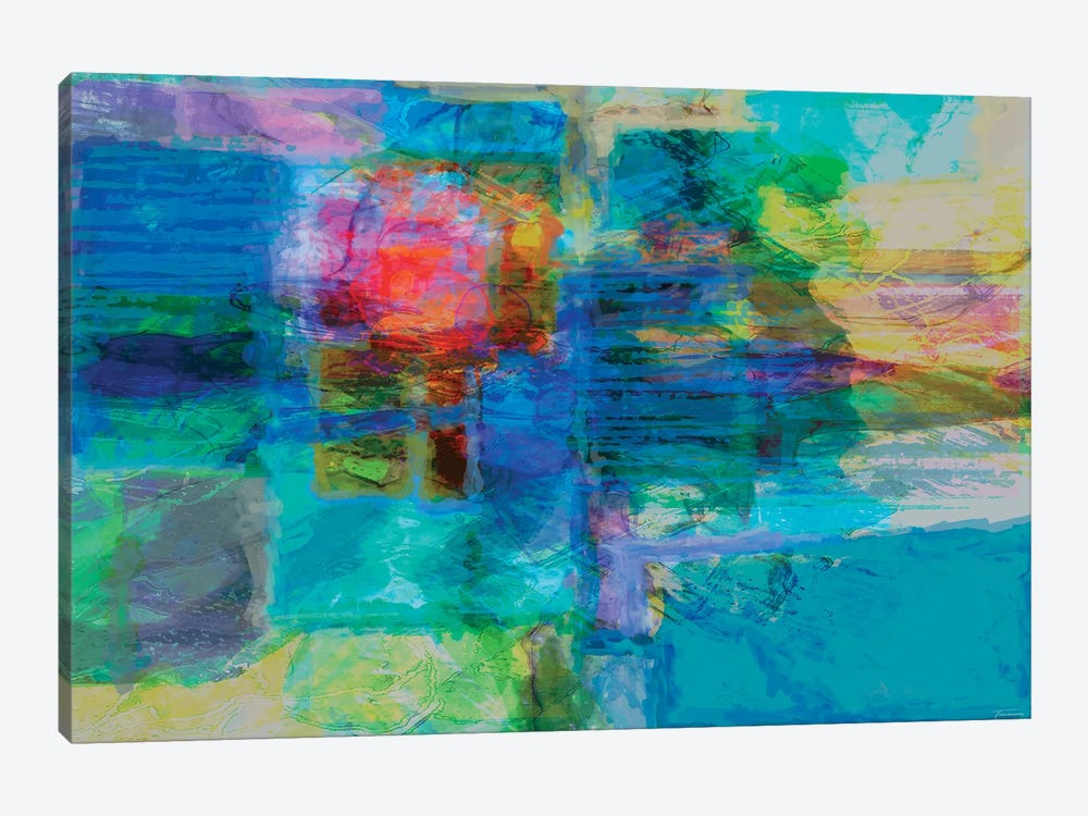 Eclipse IV by Michael Tienhaara 1-piece Canvas Print
