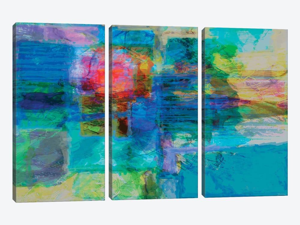 Eclipse IV by Michael Tienhaara 3-piece Canvas Print