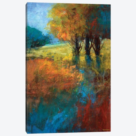 Autumn Song I Canvas Print #MTH11} by Michael Tienhaara Canvas Art Print