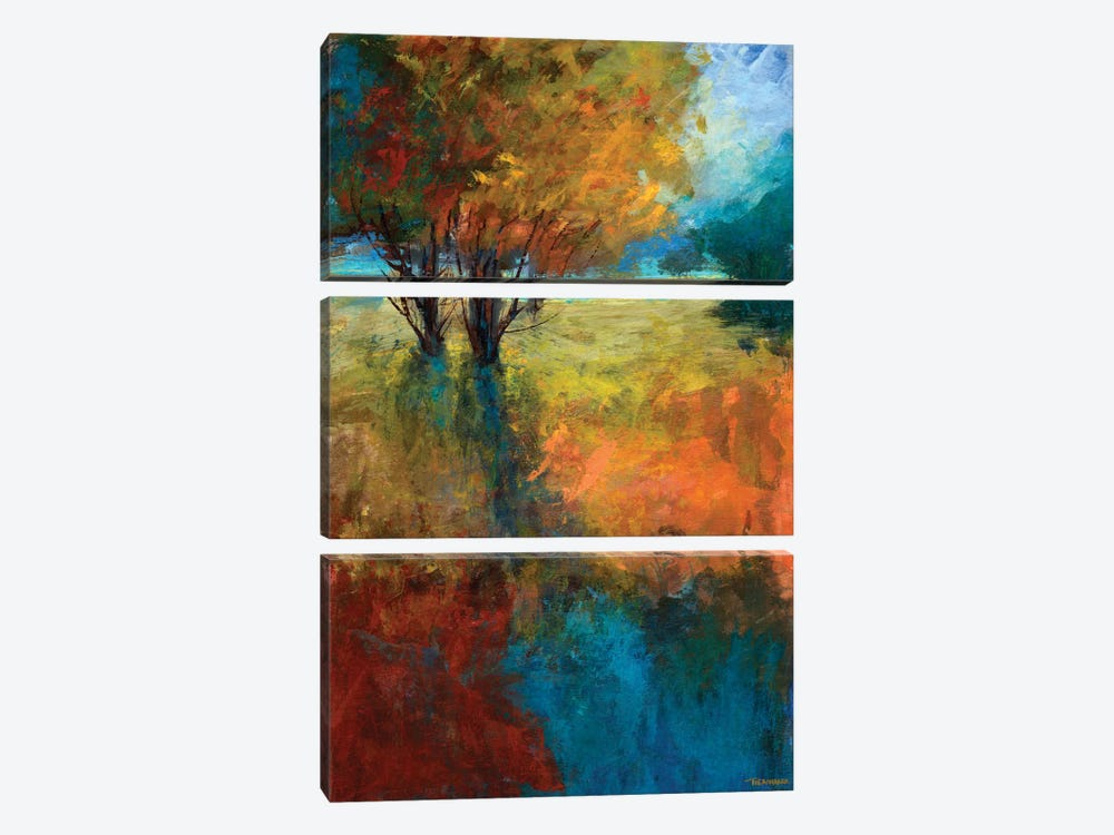 Autumn Song II 3-piece Canvas Print
