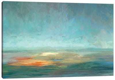 Cascade V Canvas Art Print