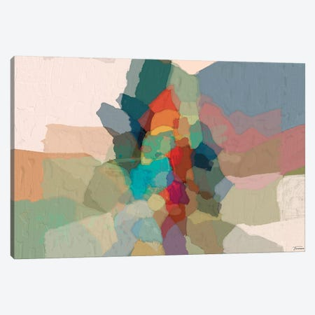 Cascade III Canvas Print #MTH15} by Michael Tienhaara Canvas Wall Art