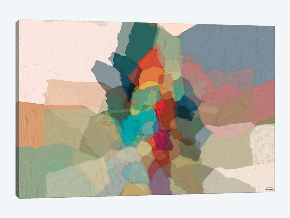 Cascade III by Michael Tienhaara 1-piece Canvas Art