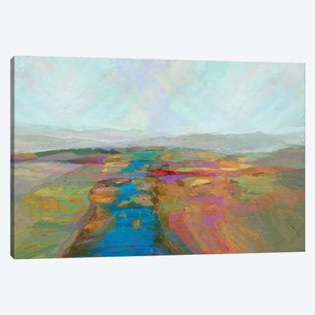 Mountain vista I Canvas Print #MTH167} by Michael Tienhaara Canvas Wall Art