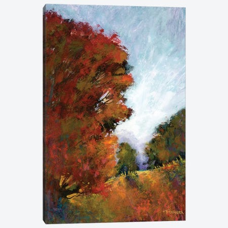 Fall's Romance I Canvas Print #MTH21} by Michael Tienhaara Canvas Artwork
