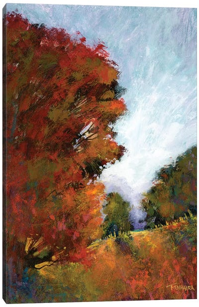 Fall's Romance I Canvas Art Print
