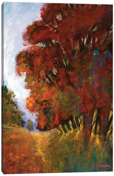Fall's Romance II Canvas Art Print