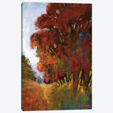 Fall's Romance II Canvas Print #MTH22} by Michael Tienhaara Canvas Artwork