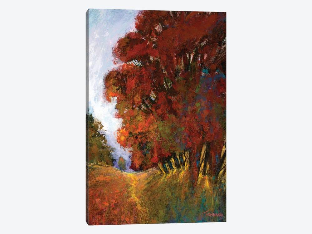 Fall's Romance II by Michael Tienhaara 1-piece Canvas Art
