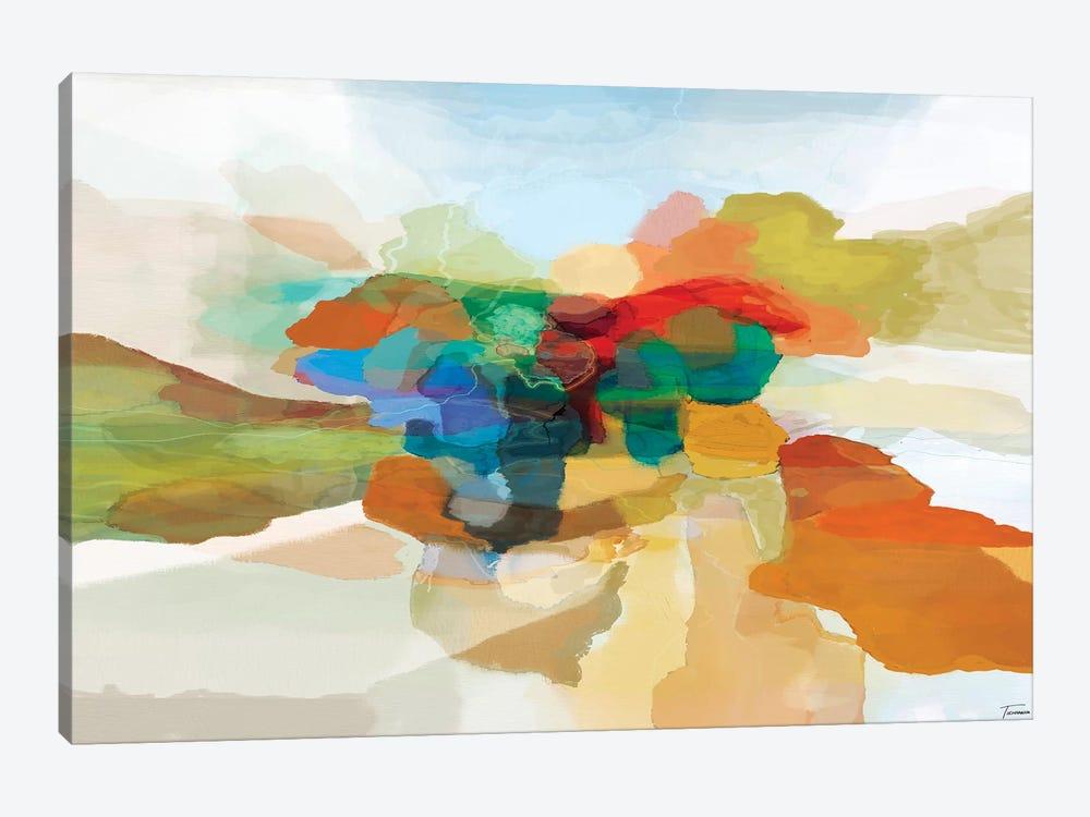 Fracture I by Michael Tienhaara 1-piece Canvas Art Print