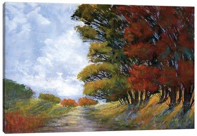 Golden Fall Canvas Art Print