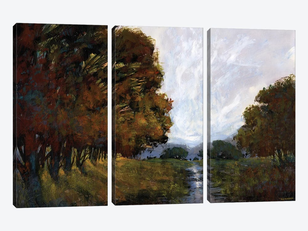 Grand Escape by Michael Tienhaara 3-piece Canvas Print