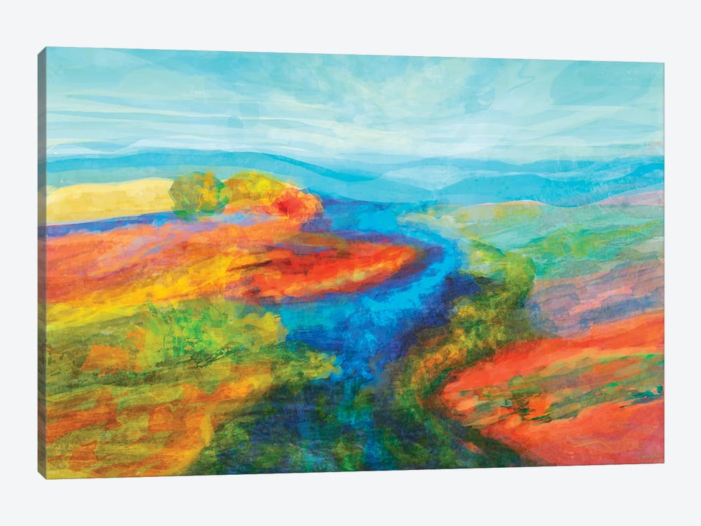 Mutations by Michael Tienhaara 1-piece Canvas Art Print