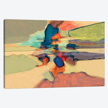 Progression III Canvas Print #MTH49} by Michael Tienhaara Canvas Wall Art