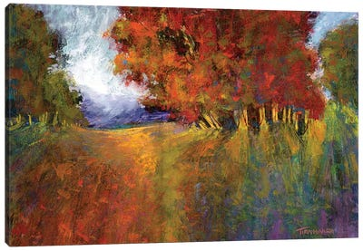 Aura Of Fall I Canvas Art Print