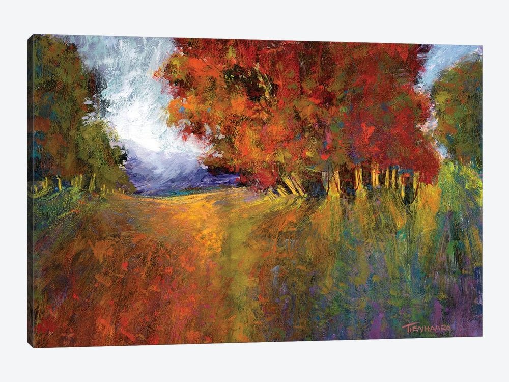 Aura Of Fall I by Michael Tienhaara 1-piece Canvas Art