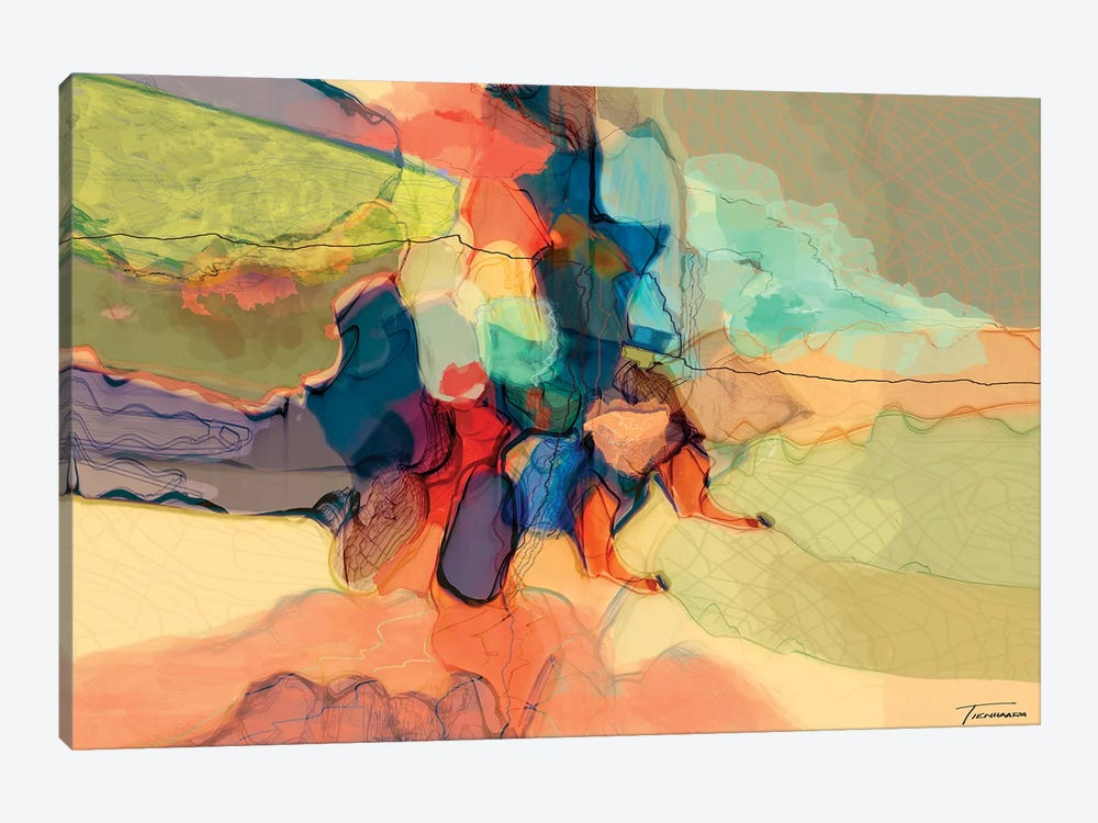 Progression IV by Michael Tienhaara 1-piece Canvas Art Print