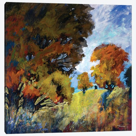 September Surprise II Canvas Print #MTH52} by Michael Tienhaara Canvas Art Print