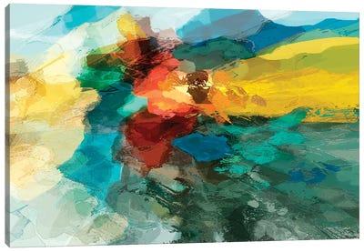 Shapes I Canvas Art Print
