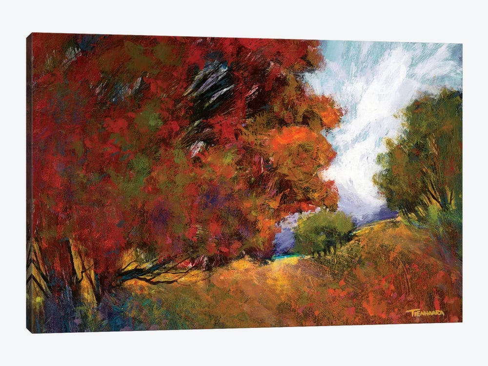 Aura Of Fall II by Michael Tienhaara 1-piece Art Print
