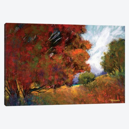 Aura Of Fall II 3-Piece Canvas #MTH5} by Michael Tienhaara Canvas Print