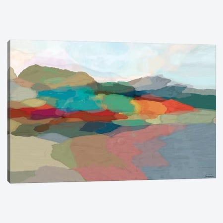Strata I Canvas Print #MTH61} by Michael Tienhaara Canvas Wall Art