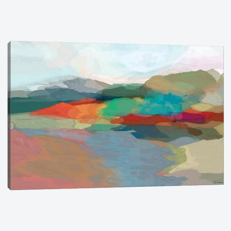 Strata II Canvas Print #MTH62} by Michael Tienhaara Canvas Art