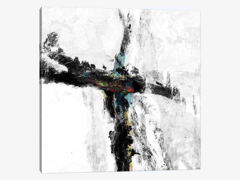 B&W IV by Michael Tienhaara 1-piece Canvas Art