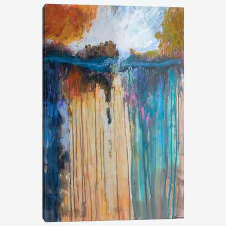 Cascading Memories I Canvas Print #MTH81} by Michael Tienhaara Canvas Art